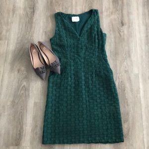 Green Dress w/pockets